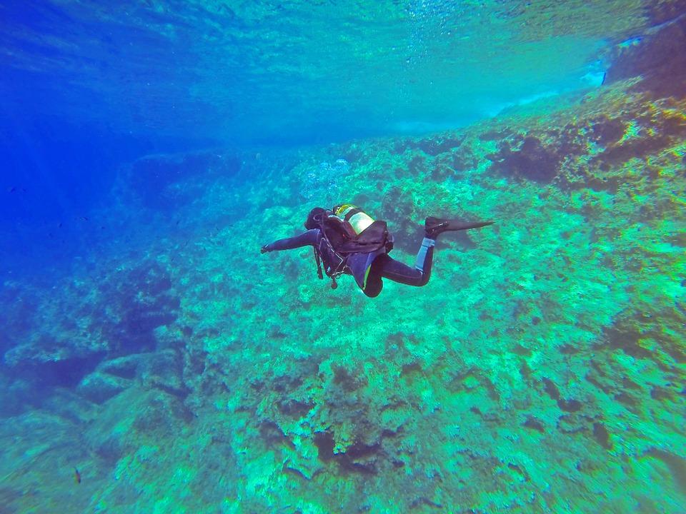 Leren duiken in Ibiza