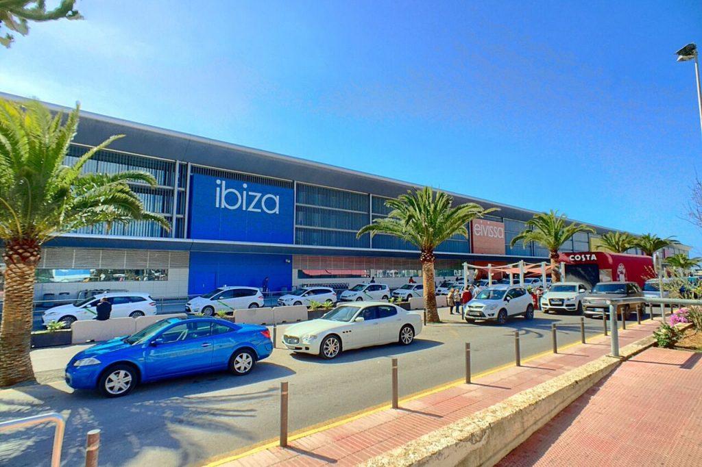 Ibiza airport, car rental