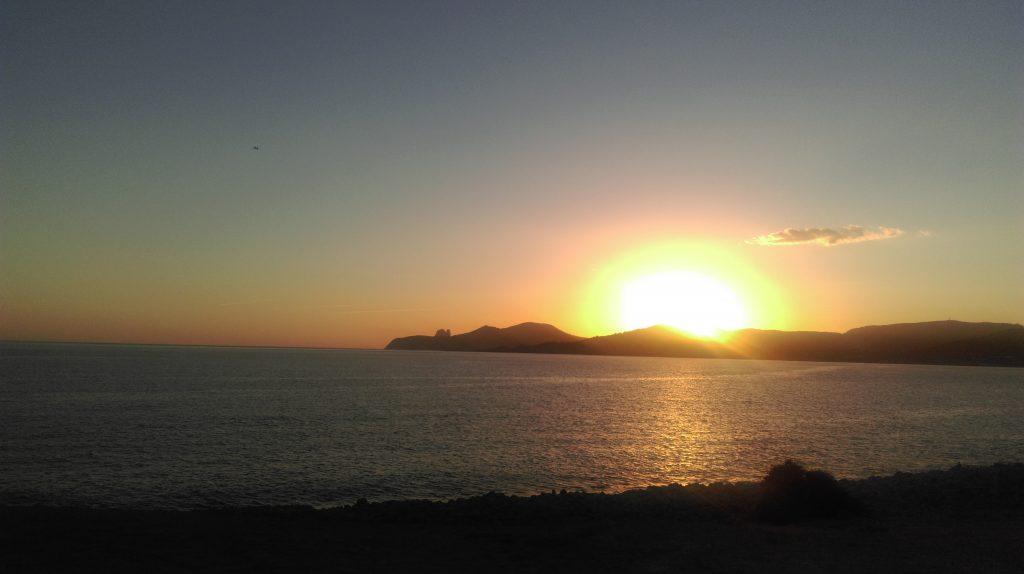 Zonsondergang - Strand Ibiza