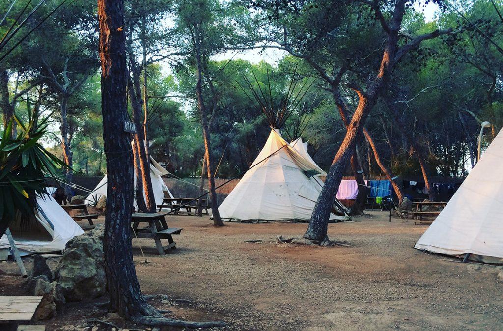 Camping beleef ibiza